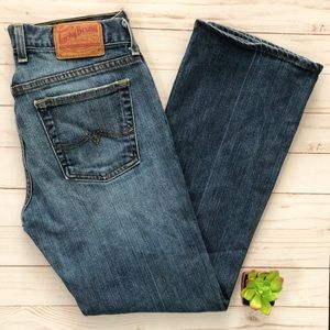 Lucky Brand Gene Montesano Sweet n Low Boot Cut